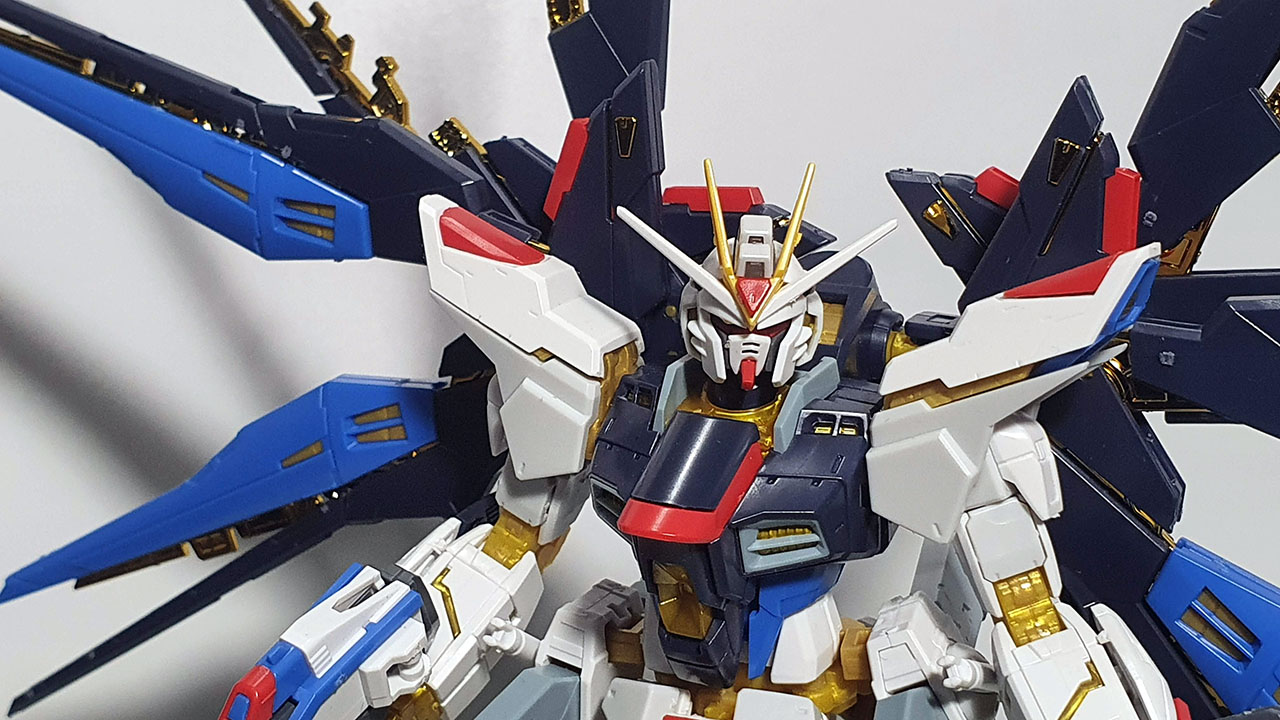 Strike Freedom Real Grade Model Kit Up Close
