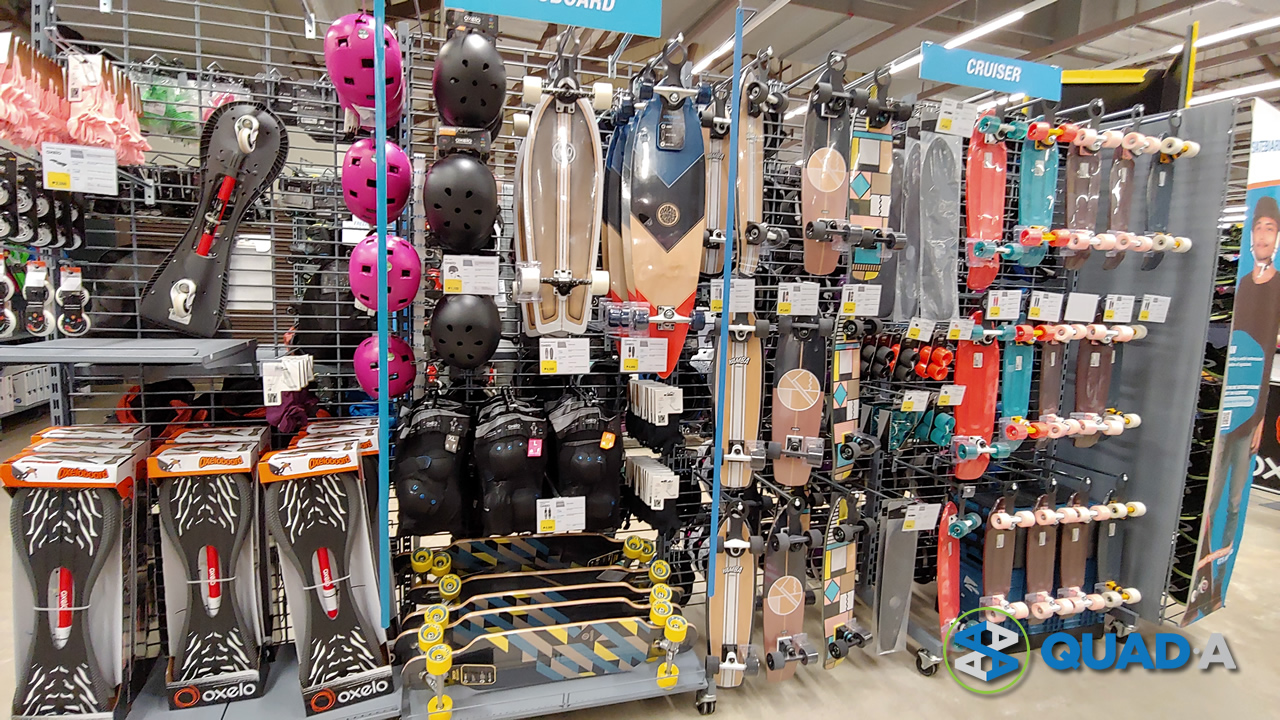 Decathlon skateboards and parts for kids and adults