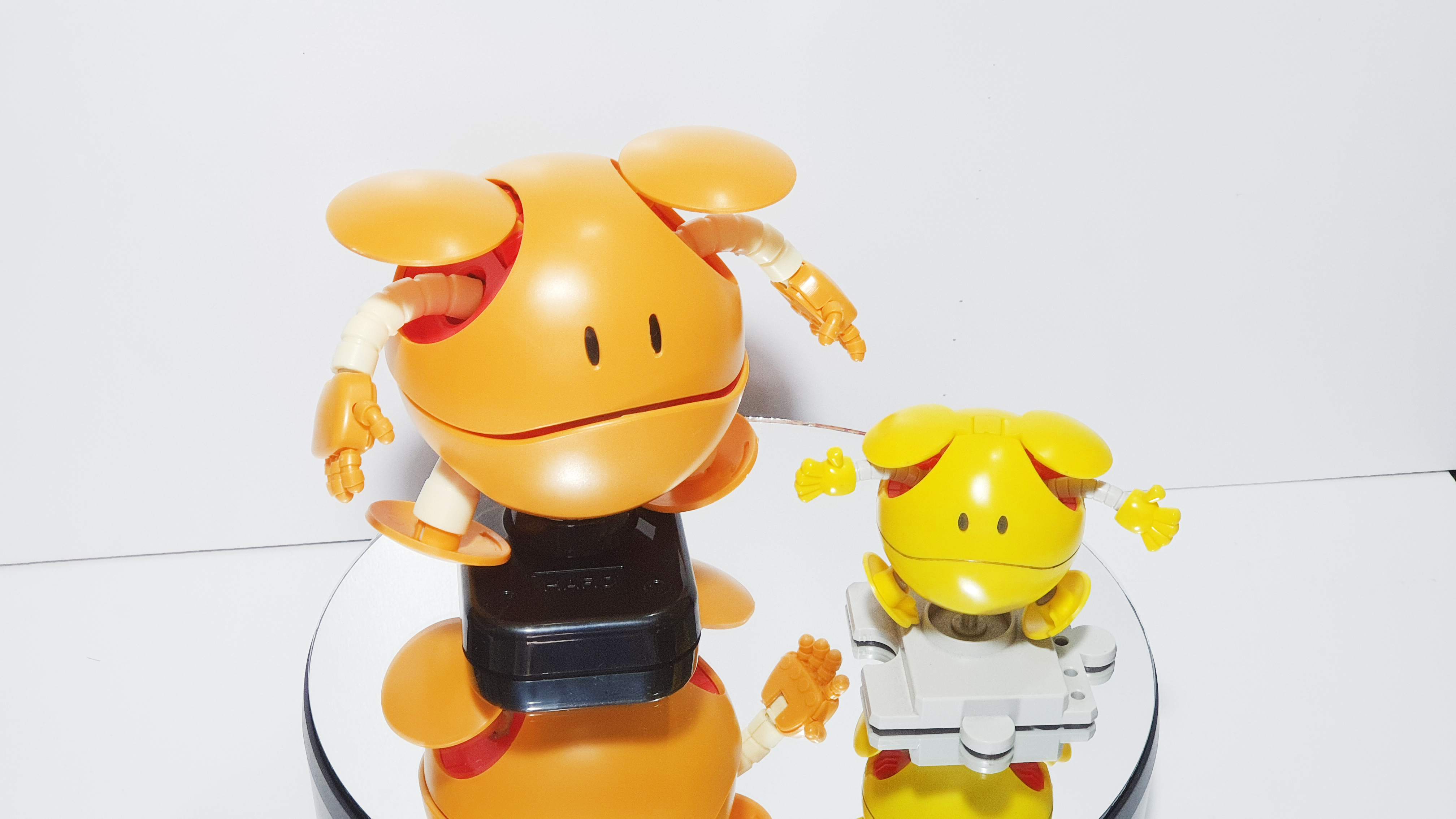 Comparison between Haro Mechanical Mascot and Haro Happy Yellow