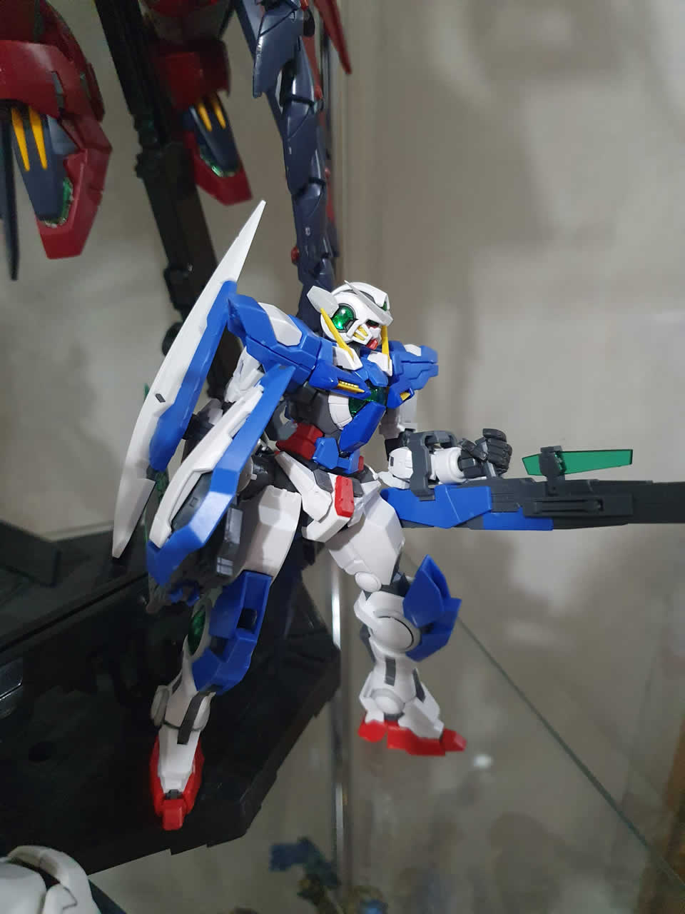 Exia Repair RG equipping all the weapons