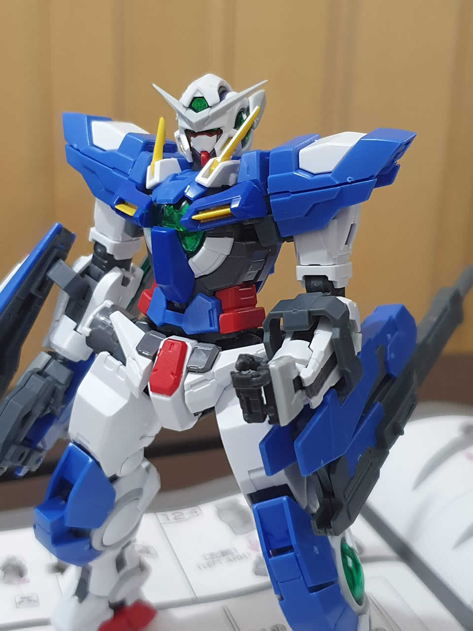 Exia Repair RG equipping the GN Rifle