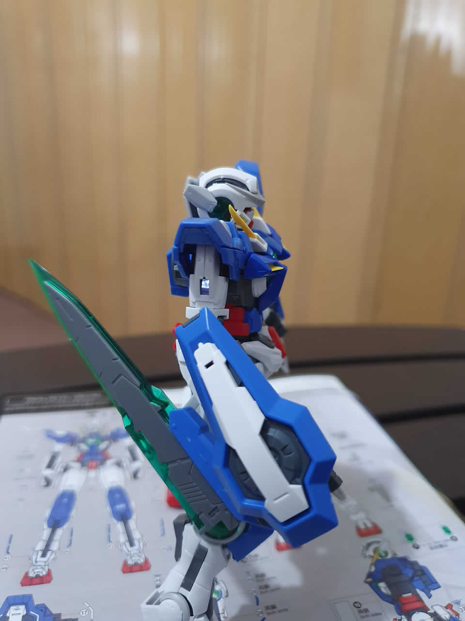 Exia Repair RG equipping the GN Shield