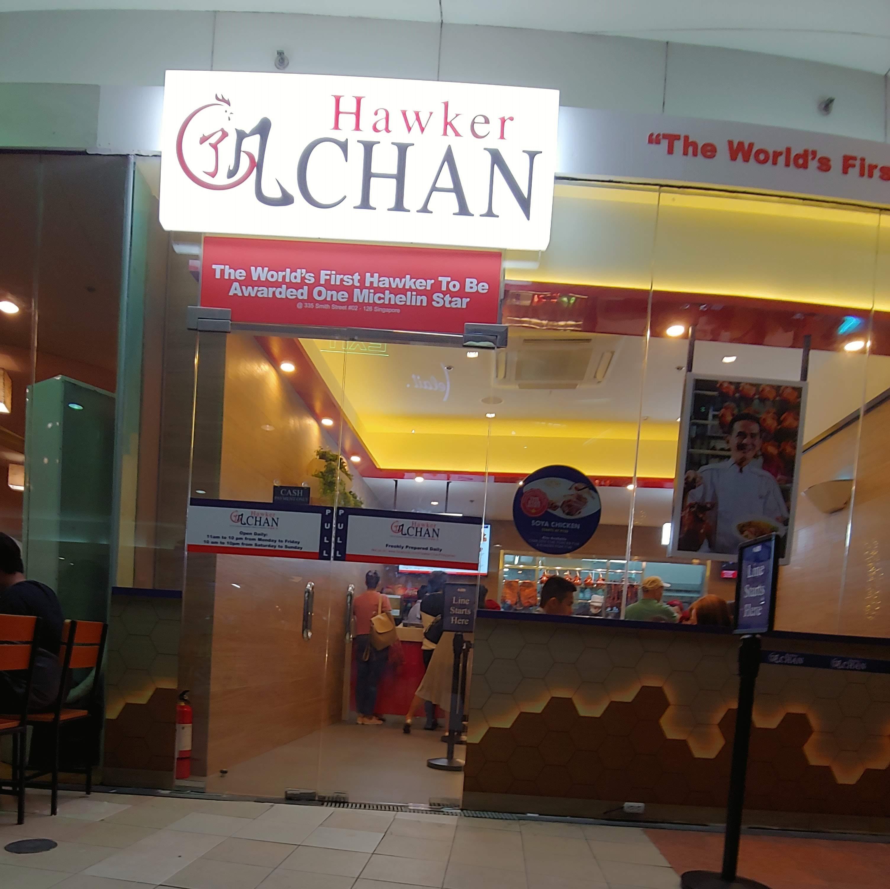 Hawker Chan MOA Branch
