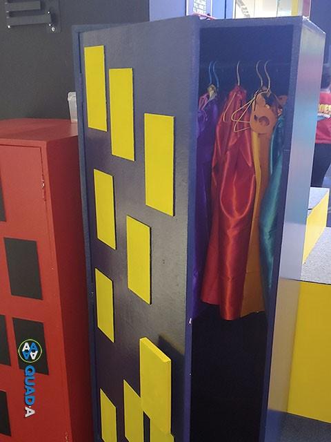 Heroes Headquarters Ph Costume Cabinet