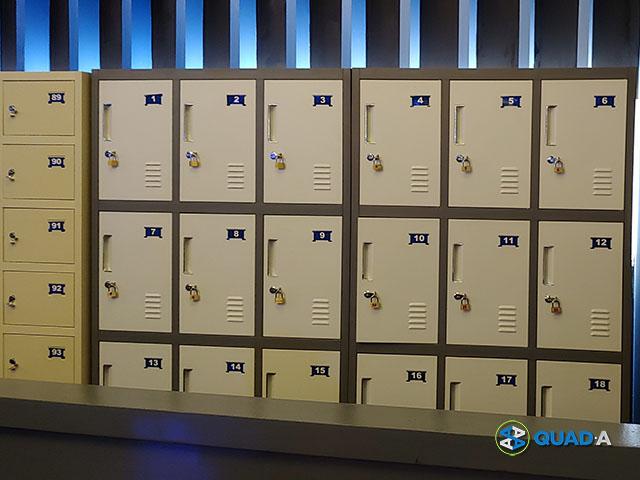 Heroes Headquarters Lockers