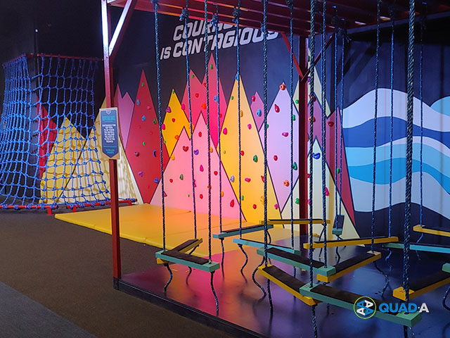 Headquarters PH Obstacle Course, Wall Climbing