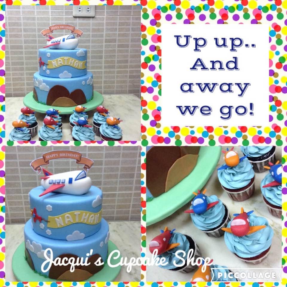 Jacqui's Customized themed birthday cake for boys