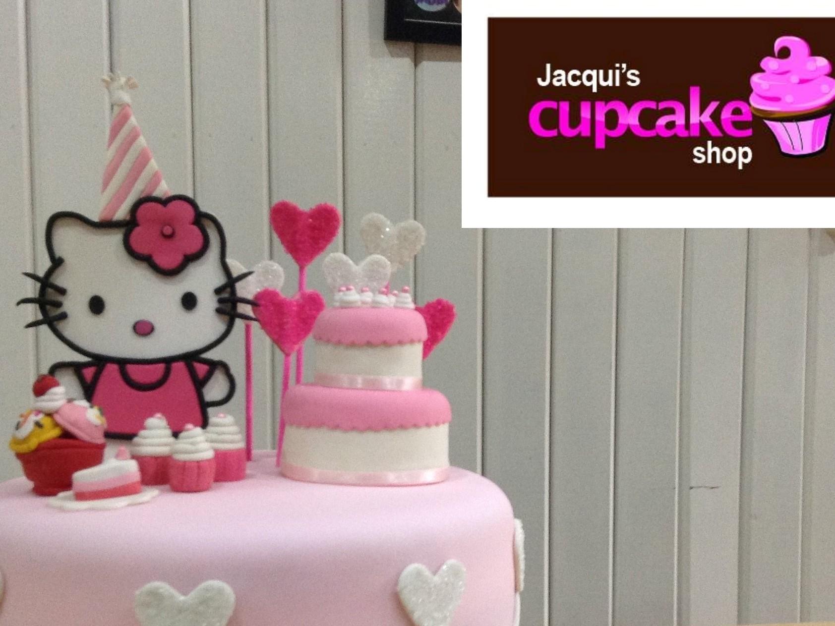 Jacqui's Hello Kitty customized baptismal cake