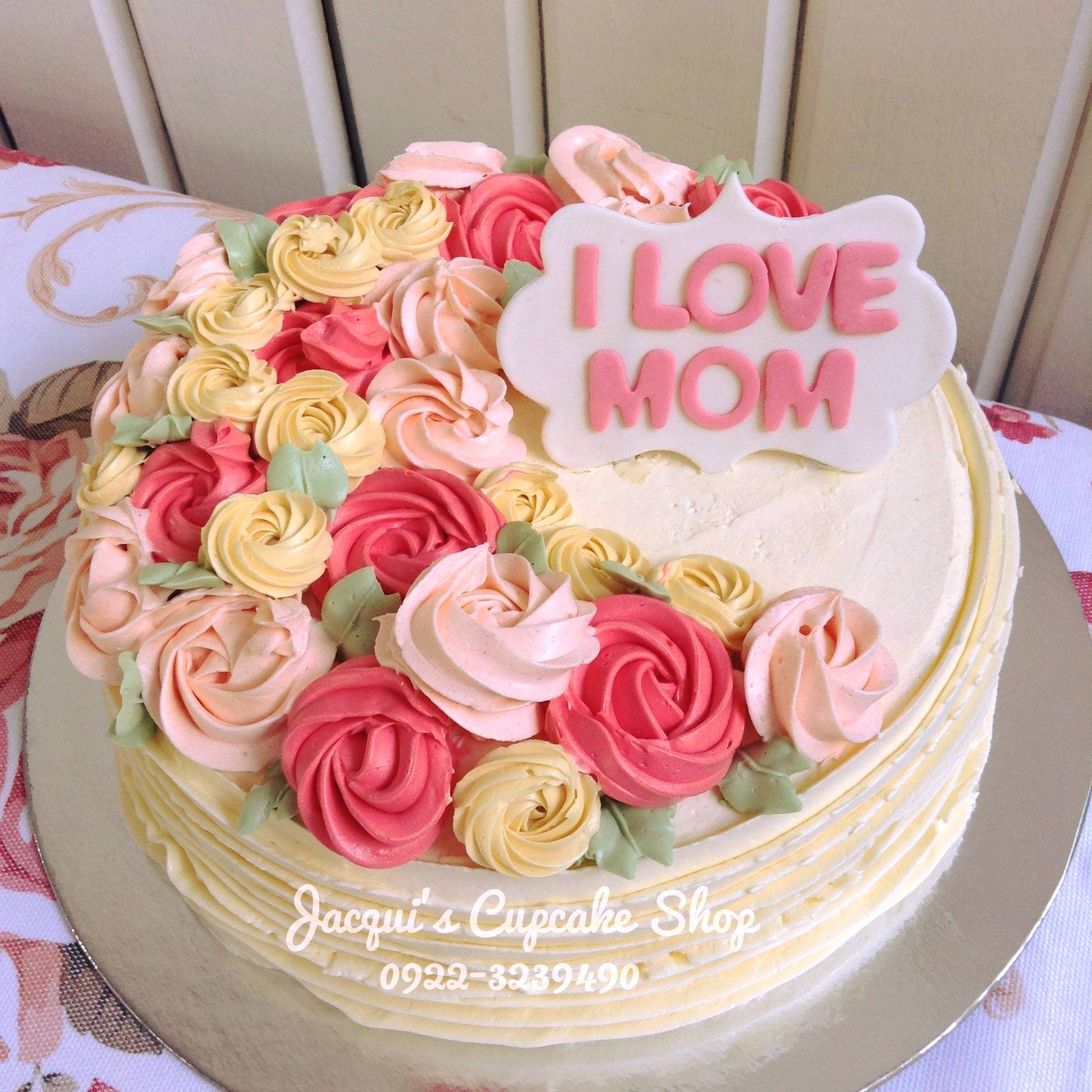 Jacqui's Customized cake for mother's day event