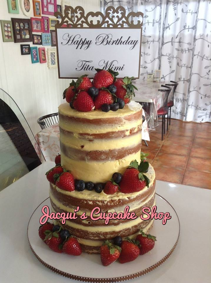 Jacqui's Naked cake for all occassions, Quezon City, Manila