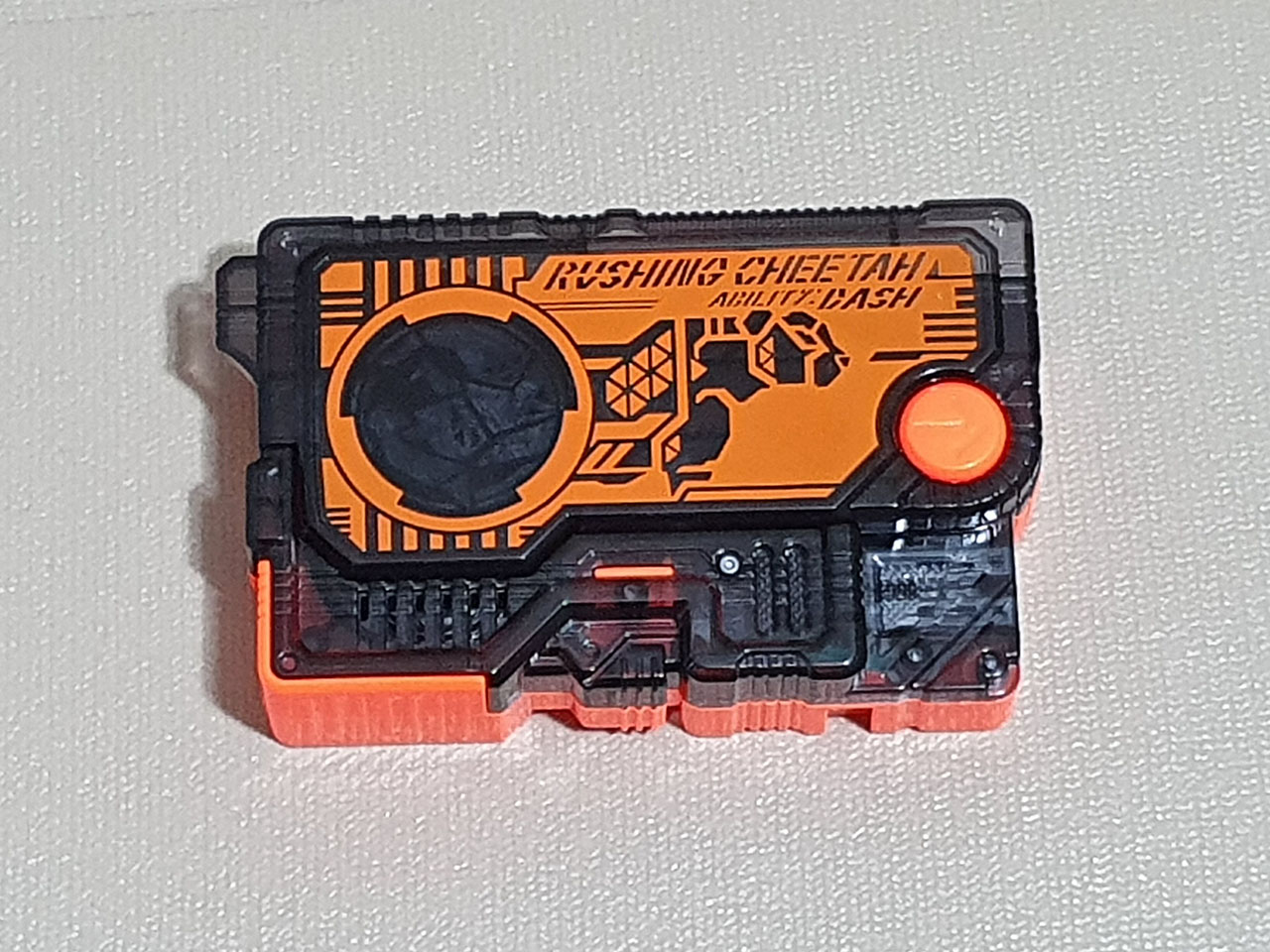 Kamen Rider Zero One Rushing Cheetah Progrise Key