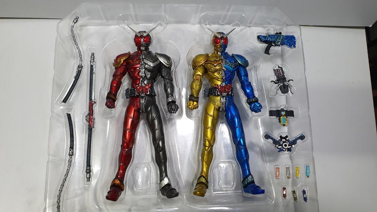 SIC Kamen Rider W Luna Trigger and Heat Metal Unboxed - Layer 1