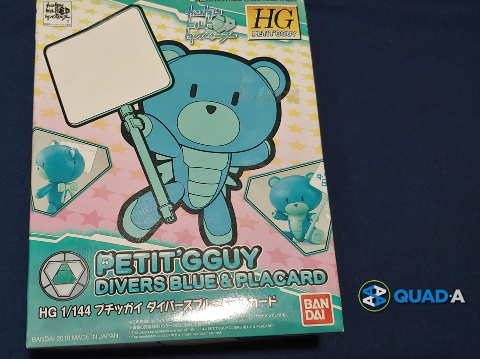 Petit'GGuy Divers Blue and Placard Box