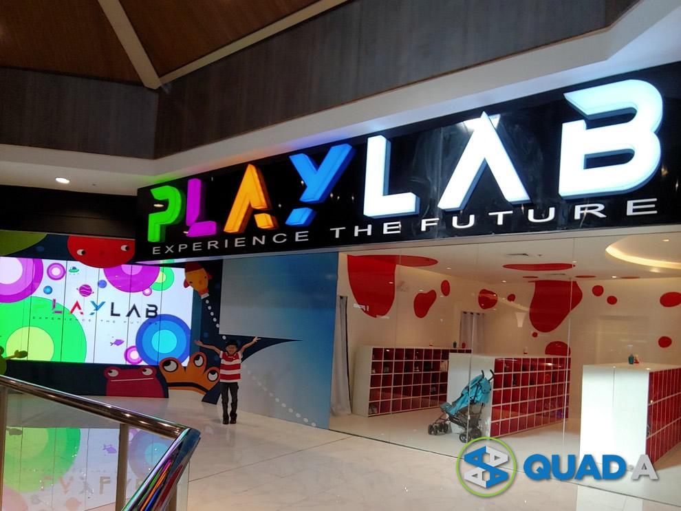 Play Lab Galleria Entrance