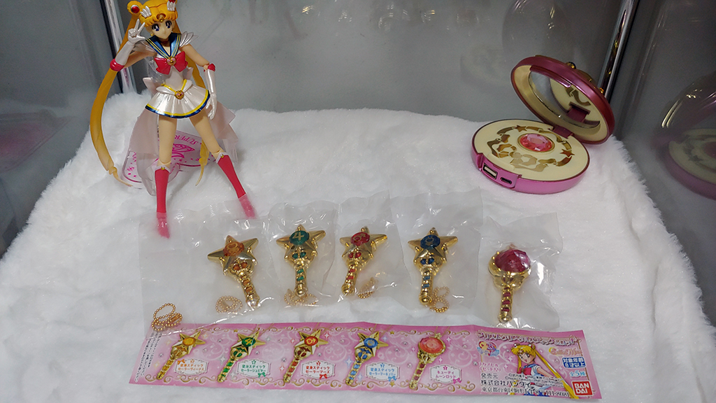 My current Sailormoon collection